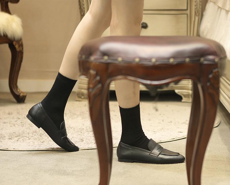 리플라(LI FLA) 20B206 black loafer